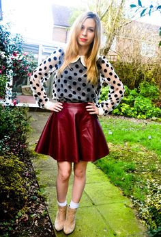 The 50s Girl  , Ebay in Shirt / Blouses, Ebay in Skirts, Asos in Ankle Boots / Booties