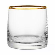 Dricksglas Guldkant