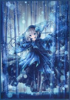 """.::: Art by Harakaze Setsuna and Bell :::. This piece was featured in; """"eishi 100"""" artbook."""