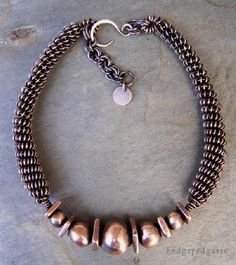 Copper and Brash Necklace