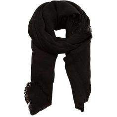 MANGO Frayed Edge Scarf ($36) ❤ liked on Polyvore featuring accessories, scarves and acessorios