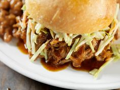 Chef Richard Blais' Pulled Chicken Sandwich