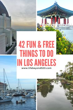 Here are 42 fun and free things to do in Los Angeles, California.  If you are planning a trip to the city, you can save money by doing these free things.  #travel #losangeles #LA #california #unitedstates #roadtrip