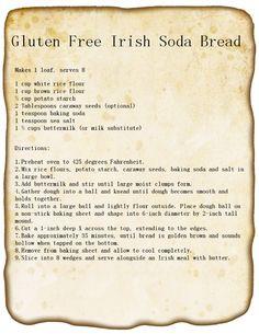 Gluten Free Irish Soda Bread Recipe #stpattys