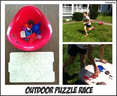 Growing Play: Outdoor Puzzle Race