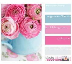 Pink and blue color scheme.