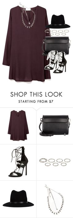 """""""Outfit for a date in autumn"""" by ferned ❤ liked on Polyvore featuring American Vintage, Alexander Wang, Stuart Weitzman, Akira, rag & bone and Forever 21"""