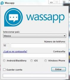 Wassap, el WhatsApp para Windows
