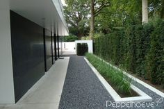 Moderne tuinen - Peppelhoeve.nl