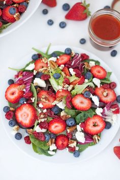 Do you have any recipes that continuously make an appearance on the table for certain holidays? For me, this Berries and Feta Salad is one of them.    This salad usually makes it's debut at Easter or Mother's Day since berries are in season at that time. Since Easter is just around the ...