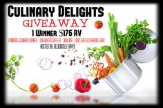 Awesome prize pack!  Culinary Delights Giveaway - Heartbeats~ Soul Stains