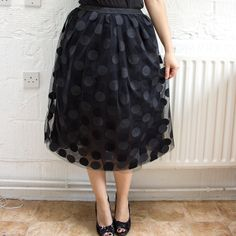 Tulle Party Skirt- 14 Stylish and Sparkly DIY Fashion Project Perfect for Party Outfits