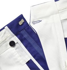 From casual chinos to formal trousers, MR PORTER stocks menswear from over 400 luxury designers, giving you so many choices when shopping online for trousers. Men Trousers, Slim Fit Trousers, Trouser Pants, Mens Pants Sizes, Sewing Pants, Classic Suit, Bespoke Tailoring, Mens Suits, Paul Smith