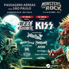 Gosta de Rock and Roll? Então essa dica é pra você!  Em Abril de 2015 vai rolar em São Paulo o maior evento de Rock do Brasil.  Saiba quanto custa viajar para São Paulo no final de semana do evento: https://www.passagemaerea.com.br/promocao-monsters-of-rock-2015.html  #EuVouNoMonsters2015 #Monsters2015 #MonstersOfRock2015 #SaoPaulo #passagemaerea