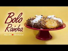 Bolo Rainha   SaborIntenso.com Portuguese Desserts, Portuguese Recipes, Sweet Bread, Christmas Desserts, Dessert Recipes, Cooking Recipes, Pudding, Baking, Breakfast