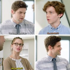 """""""You're... You're Supergirl fan, huh."""" #Supergirl #1x04"""