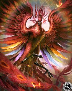 FFVII Phoenix from Mobius Final Fantasy