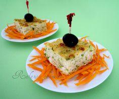 Sformato di zucchine e ricotta: antipasto o secondo piatto? Oggi lo presento come antipasto, in alternativa potete presentarlo a tavola come secondo piatto.