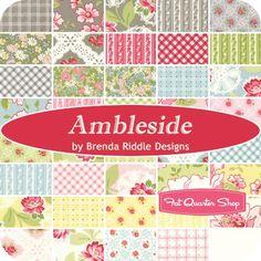 Ambleside Half Yard Bundle ReservationBrenda Riddle Designs for Moda Fabrics | Fat Quarter Shop