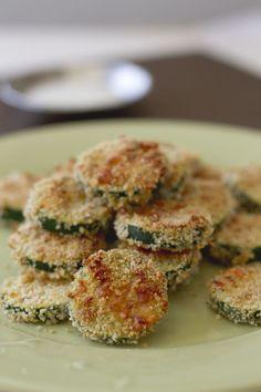 Addictive Veggie Snack: Fried Panko Parmesan Zucchini Chips