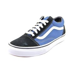 Reinvigorate yourself with these Vans Women's 'Old Skool' Basic Textile Casual Shoes. Made from textile, these blue athletic shoes are a must-have accessory. Details: Textile Round toe Medium width Bl