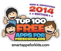 GUESS WHAT?? We've got the NEW 2014 Edition of Top 100 FREE Apps for Preschoolers!!!! Yay!!! It's got every free preschool app you need to know about! Come check it out! http://www.smartappsforkids.com/top-10-free-apps-1.html
