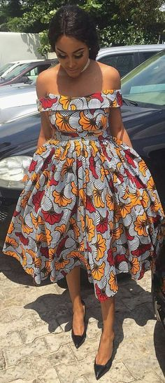 african print dresses African Print dress, Flower Ankara Dress, African Clothing, African Clothing for Women, African Dres African Fashion Ankara, Ghanaian Fashion, African Print Fashion, Africa Fashion, Men's Fashion, African Style, Fashion 2018, Dress Fashion, Fashion Ideas
