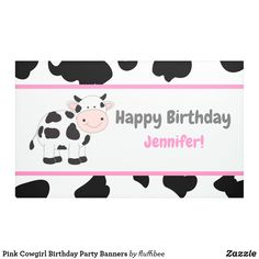 Shop Pink Cowgirl Birthday Party Banners created by fluffibee. Personalize it with photos & text or purchase as is! Simple First Birthday, First Birthday Banners, First Birthday Gifts, First Birthdays, Birthday Diy, Birthday Ideas, Diy Party Banner, Party Banners, Cowgirl Birthday