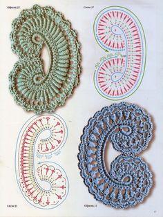 #ClippedOnIssuu from Modèles au crochet irlandais