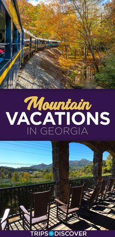 - Vacation Ideas - 10 Georgia Mountain Towns For a Relaxing Weekend Getaway Top 10 Vacation Spots in the Georgia Mountains. Top 10 Vacation Spots, Vacation Places, Dream Vacations, Vacation Ideas, Places In Usa, Places To Go, Us Destinations, Mountain Vacations, Weekend Getaways