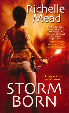 Storm Born (Dark Swan Series #1) all 4 books are pretty good.