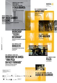 Matrix for Regular Events 2013 on Behance