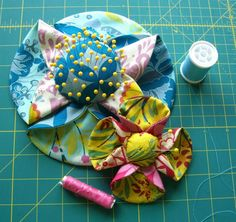 ReFab Diaries: Upcycle: Fabric flowers