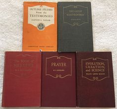 Early writings by ellen white early writings is a work of lasting lot of 5 seventh day adventist sda vintage books christian home library 40s 50s fandeluxe Gallery