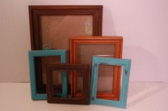 images of burnt orange and aqua room | Share