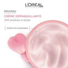 Test produits - Crème Démaquillante - Fleurs Rares de L'Oréal Paris - Nous recherchons 200 testeurs ! Posez votre candidature gratuitement.