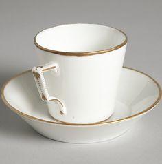 White Coffee Cups, Mount Vernon, Presidents, Tea Cups, Washington, Porcelain, China, Tableware, Afternoon Tea