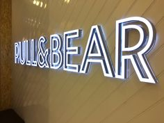 Illuminated Signs for walls interior and exterior http://www.vinylimpression.co.uk/pages/custom-design-services