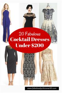 The ultimate guide to 20 Fabulous Cocktail Dresses Under $200.00!  You're biggest dilemma will be which one you love the most!