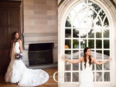Bridal Portait for Scarritt Bennett Wightman Chapel Wedding Nashville, TN.