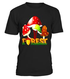 c1b6c622 GIANT MUSHROOM FOREST T-Shirt Trippy Fungi Tee Shirt . Special Offer, not