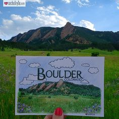 Home, sweet home! I've been enjoying part of the summer in my hometown of Boulder, Colorado. If you're a fan I added this illustration to my travel print collection: rachelryle.com/shop!
