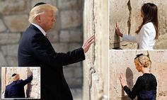 Trump becomes first U.S. president to visit Jerusalem's Western Wall