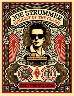 Joe Strummer print
