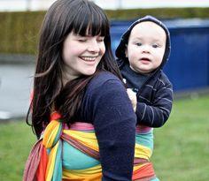 #easycare rainbow n.1, #babywearing #wovenwraps