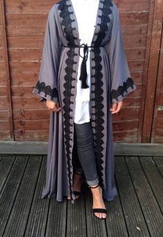 Image of Ready To Dispatch Rima Abaya Size 58 Slimfit
