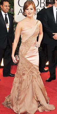 Isla Fisher in Carlos Miele, 2009
