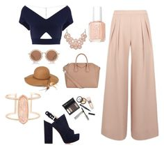 """Pants"" by beatrizcosta96 ❤ liked on Polyvore featuring Borghese, Antipodium, Roland Mouret, Gianvito Rossi, Givenchy, Essie, Steve Madden, House of Holland and Kendra Scott"