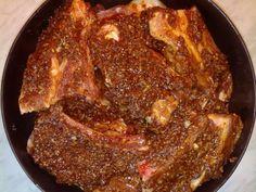 Hrachove rebrá (fotorecept) - obrázok 3 Pork, Meat, Kale Stir Fry, Pork Chops
