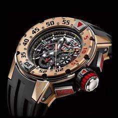 #Richard Mille RM 032 Diver Chrono #Diving #Luxury